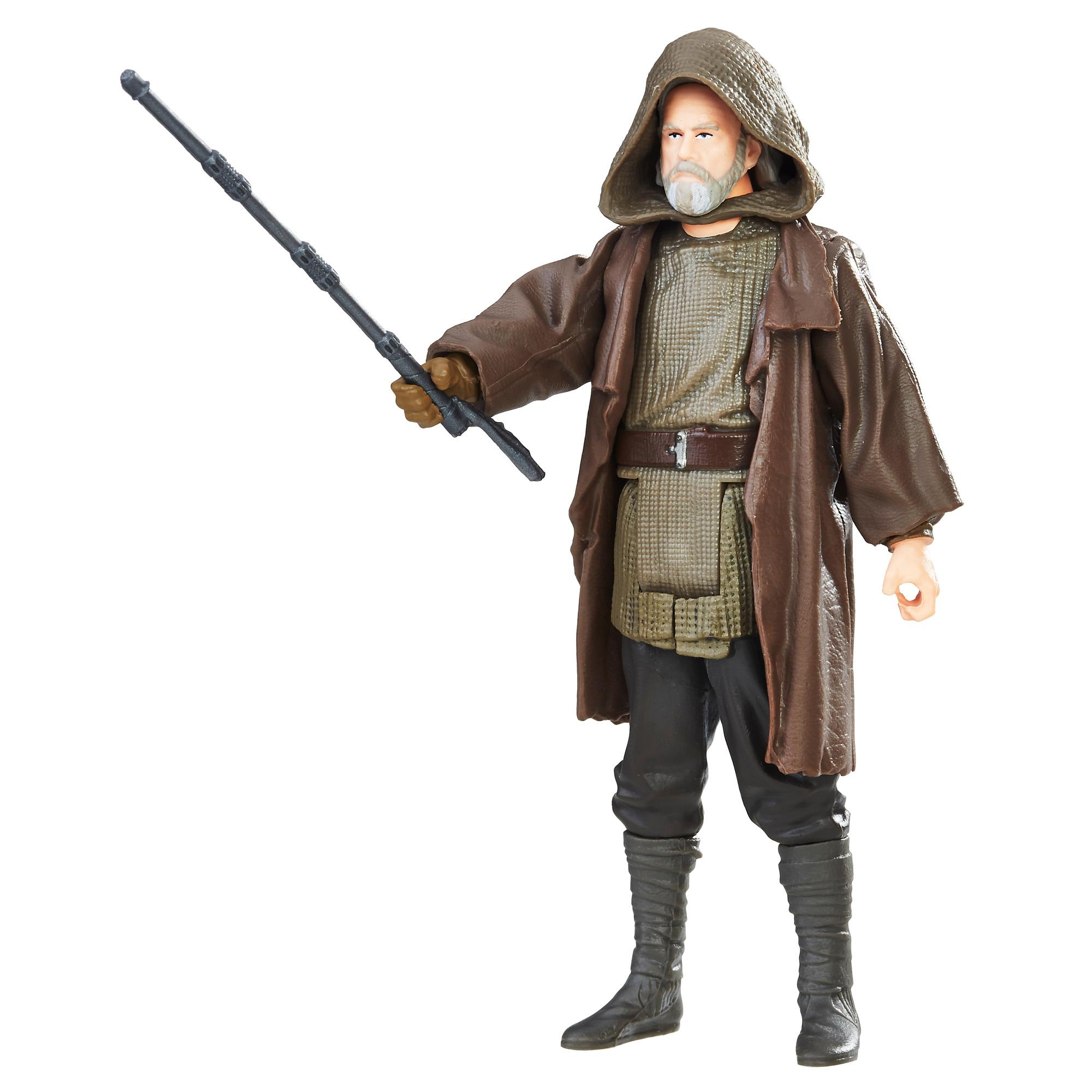 Star Wars - Luke Skywalker Luke Skywalker (Jedi Exile) Figura com Force Link