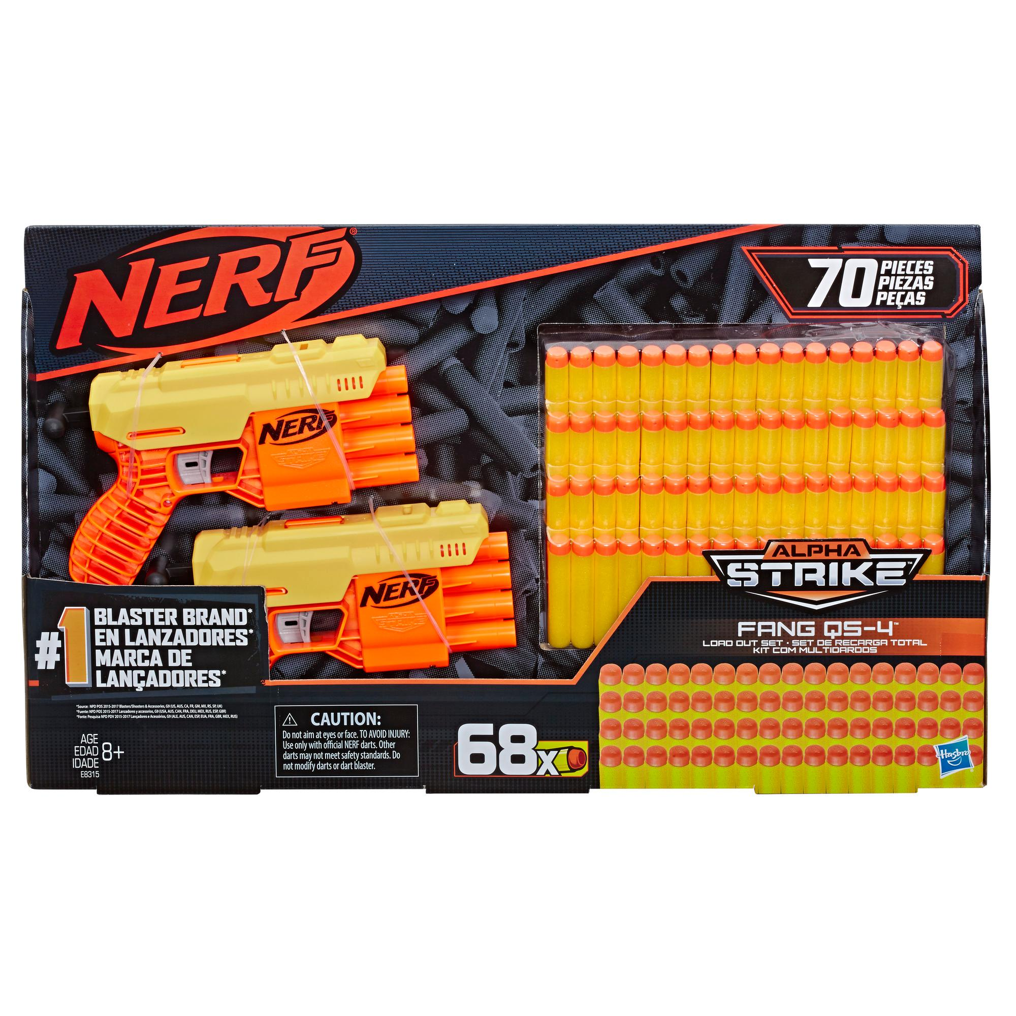 Nerf Alpha Strike Kit de equipamentos Fang QS-4 - Kit
