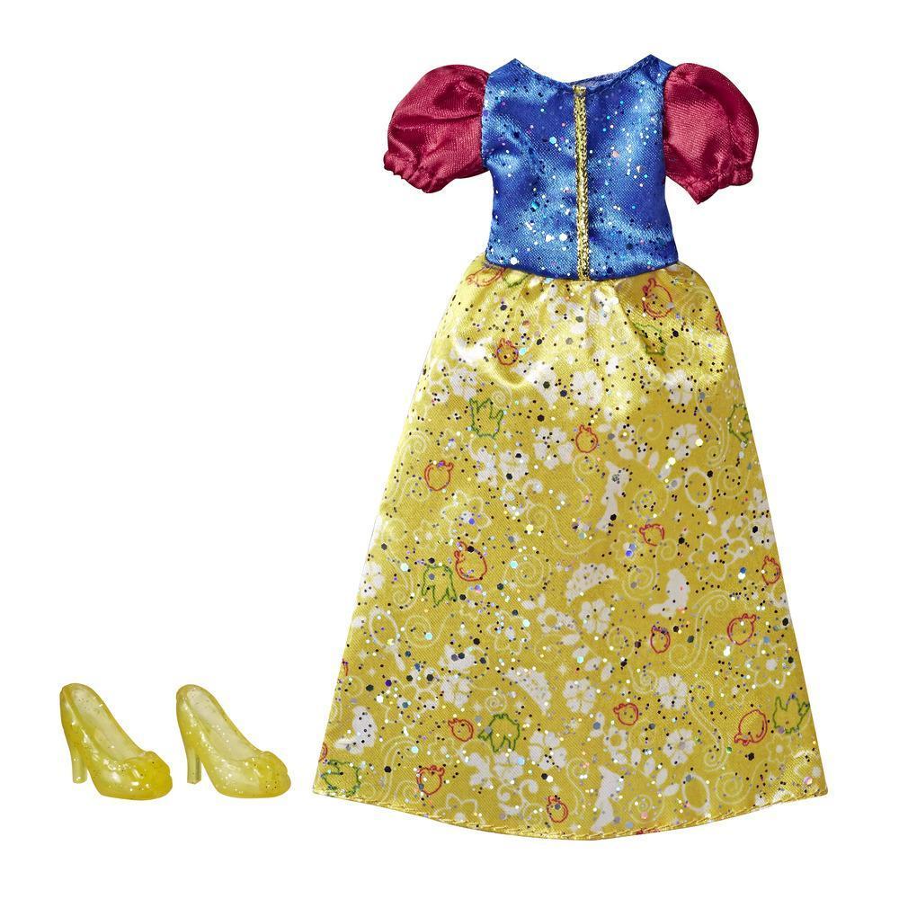 Disney Princess Branca de Neve - Kit de roupa: vestido e sapatos