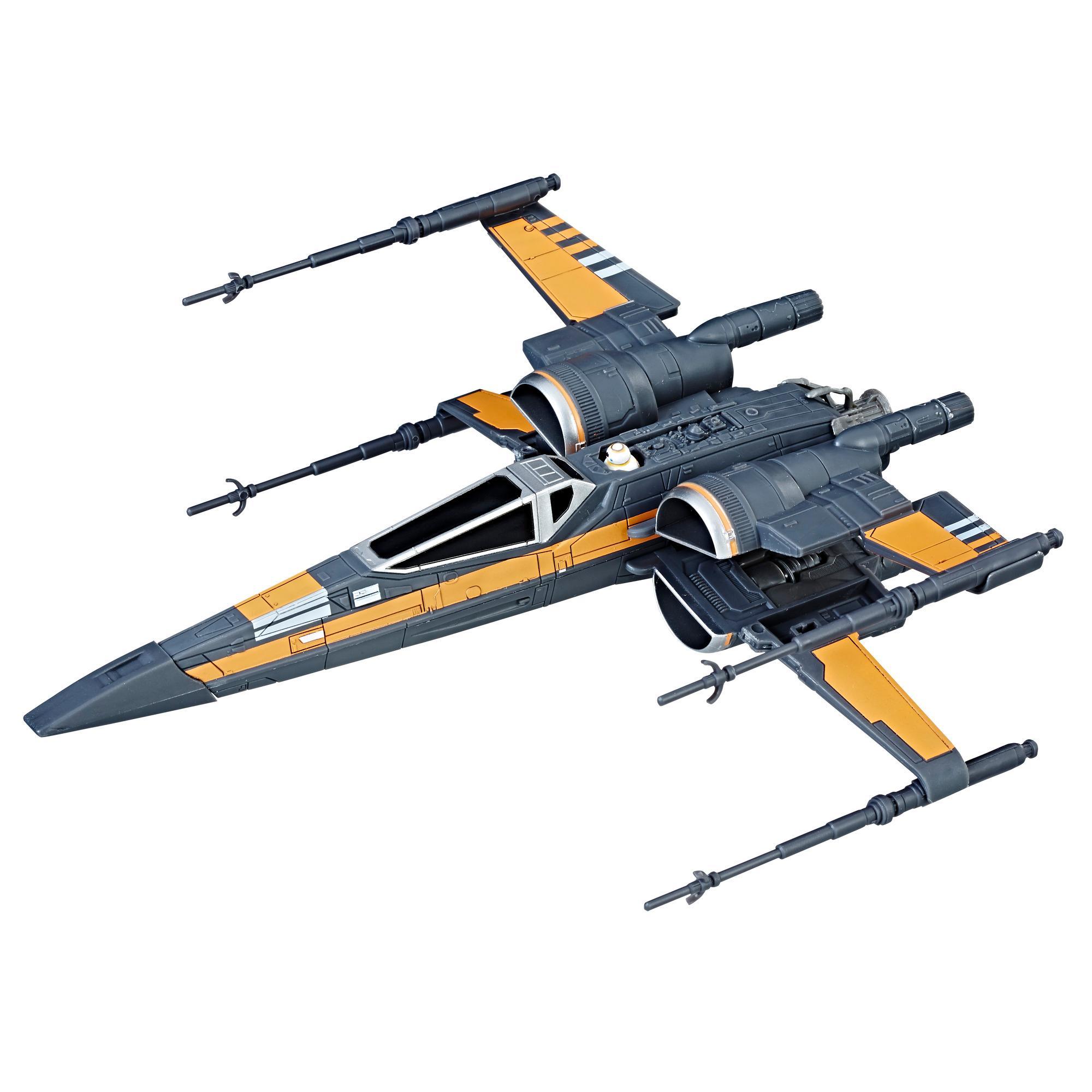 Star Wars: Os Últimos Jedi - Caça X-Wing Encrementado de Poe Dameron