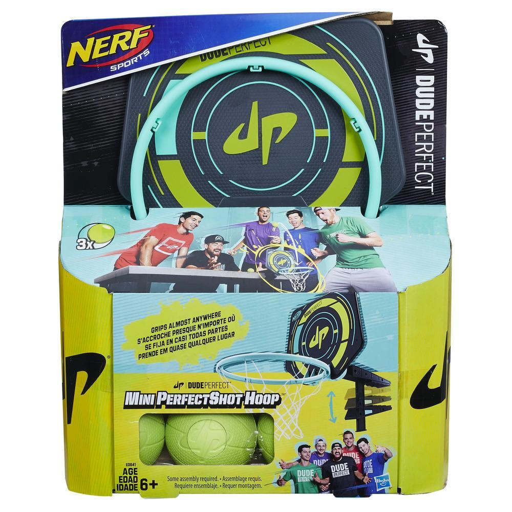 Nerf Sports Dude Perfect - Mini Cesta PerfectShot