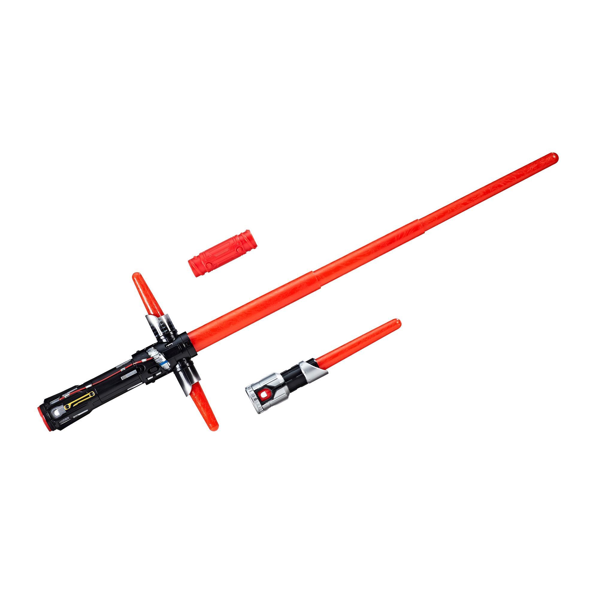 Star Wars: Os Últimos Jedi - sabre de luz eletrônico de Kylo Ren