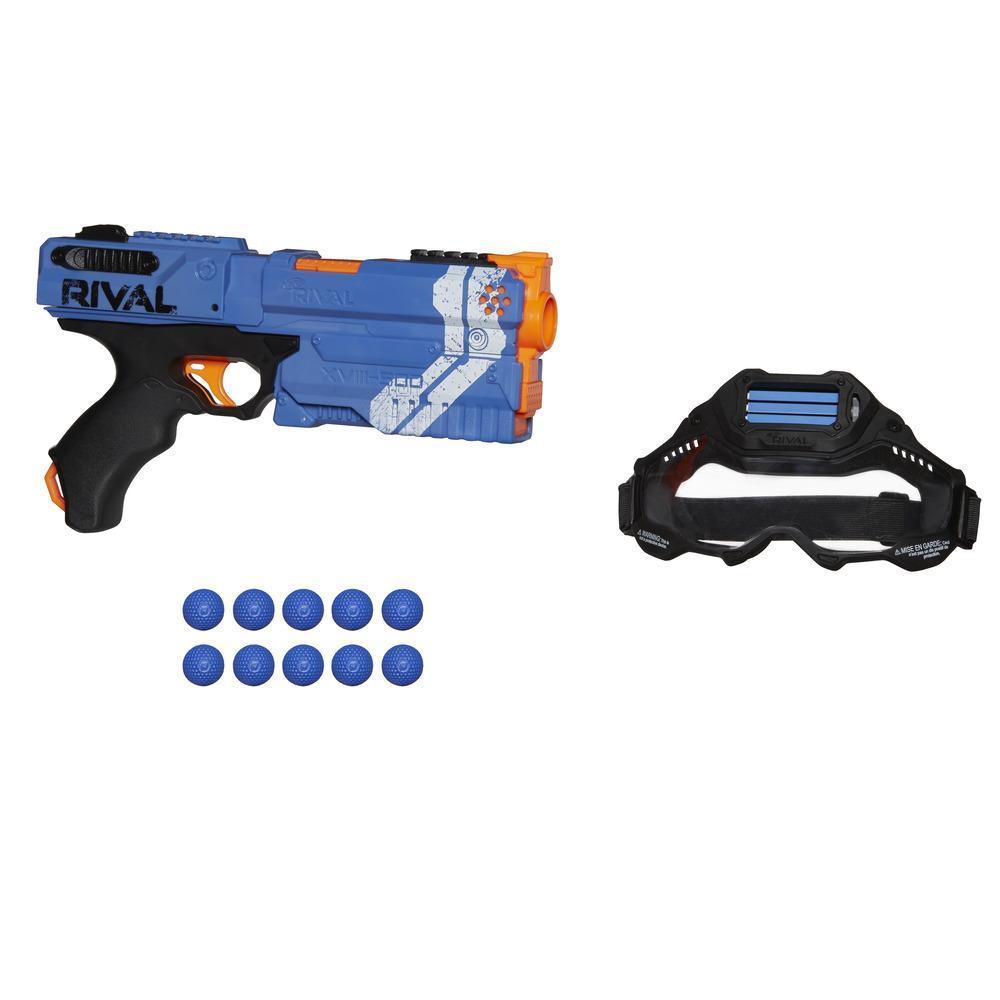 Kit de Aventura Nerf Rival Kronos XVIII-500 (azul)