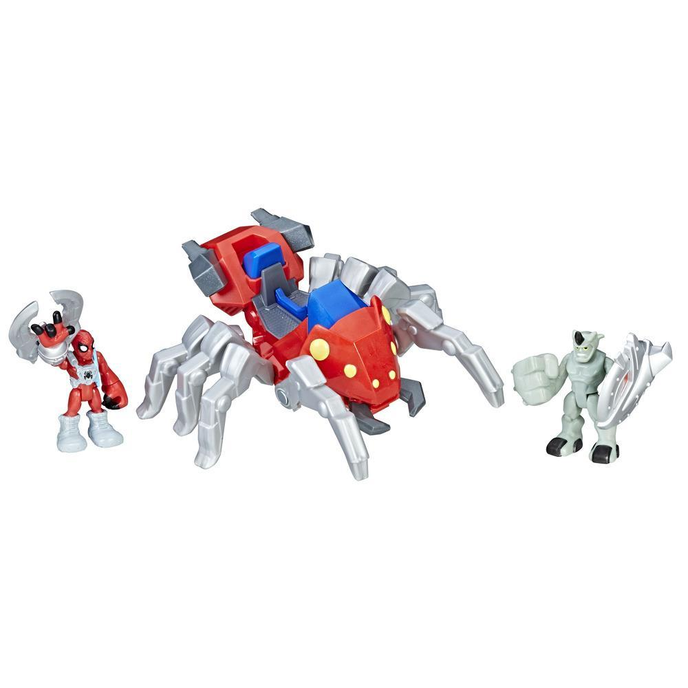 Playskool Heroes Marvel Super Hero Adventures - Spider-Man com Spider Bot
