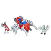 Playskool Heroes Marvel Super Hero Adventures - Spider-Man com Spider Bot