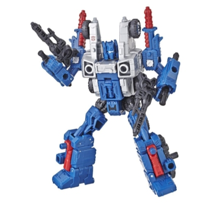 Transformers Generations War for Cybertron: Siege Classe Deluxe - Figura Weaponizer de WFC-S8 Cog Product