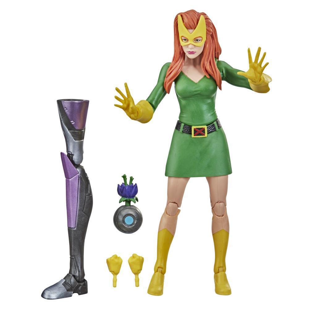 Hasbro Marvel Legends Series X-Men - Jean Grey de 15 cm, 3 acessórios, A partir dos 4 anos