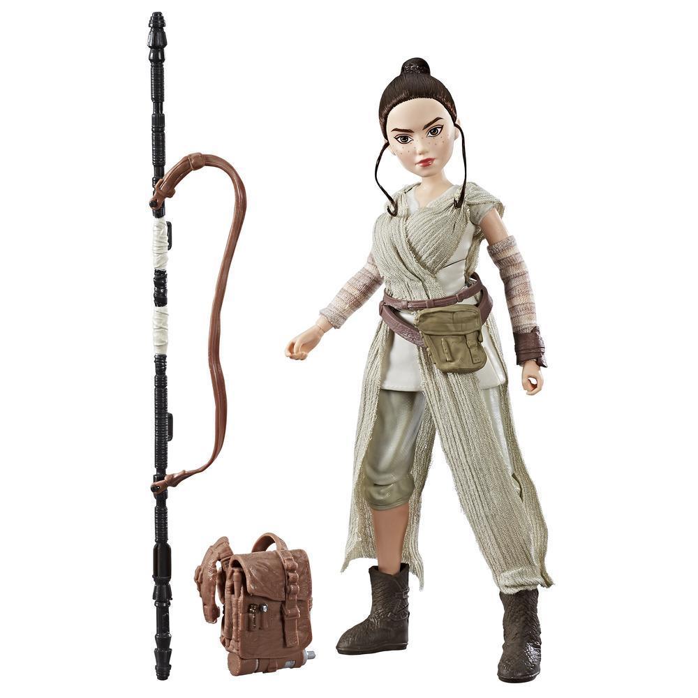 Brinquedos Star Wars Forces of Destiny - Figura Dinâmica Rey (Jakku)