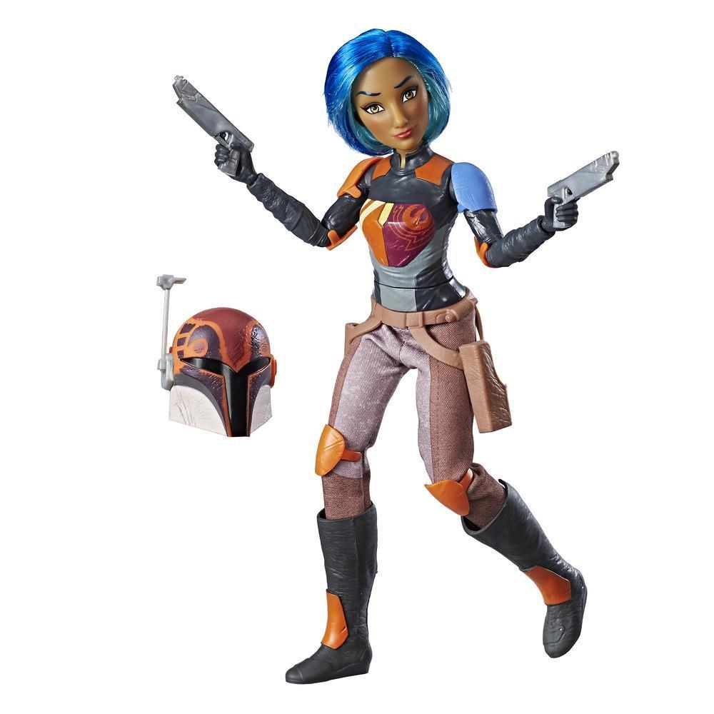 Brinquedos Star Wars Forces of Destiny - Figura Dinâmica Sabine Wren