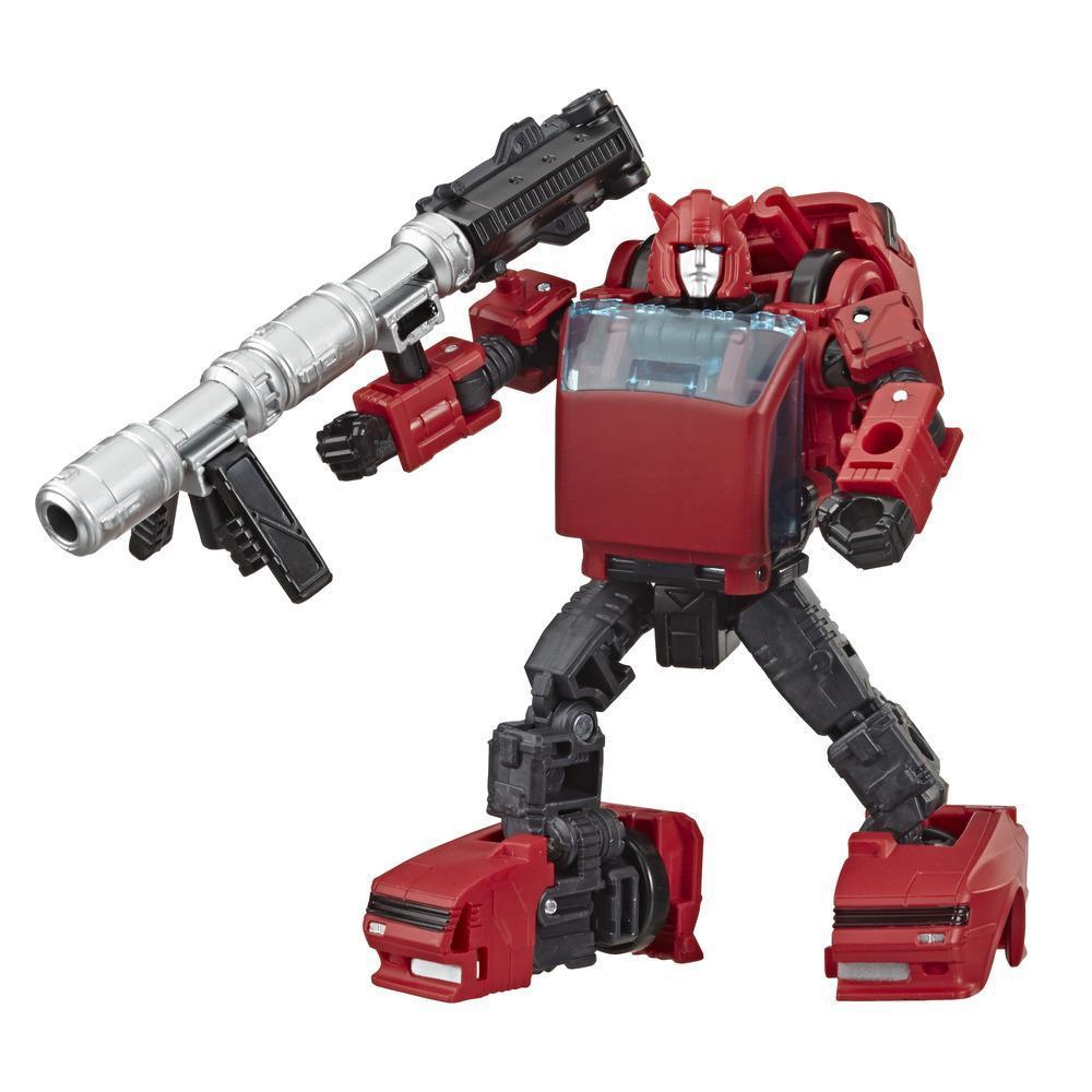 Transformers Generations War for Cybertron: Earthrise Deluxe - Figura modular de 14 cm WFC-E7 Cliffjumper