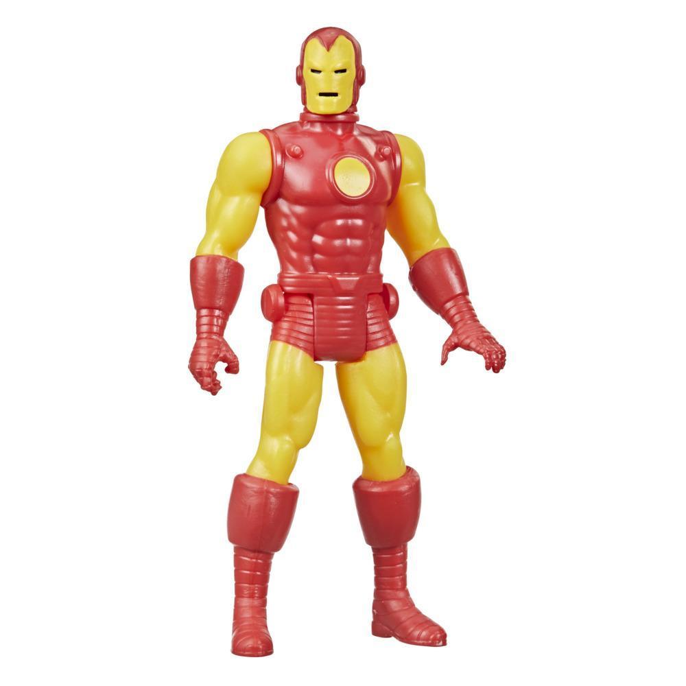 Hasbro Marvel Legends Retro 375 Collection Homem de Ferro Figura Brinquedo
