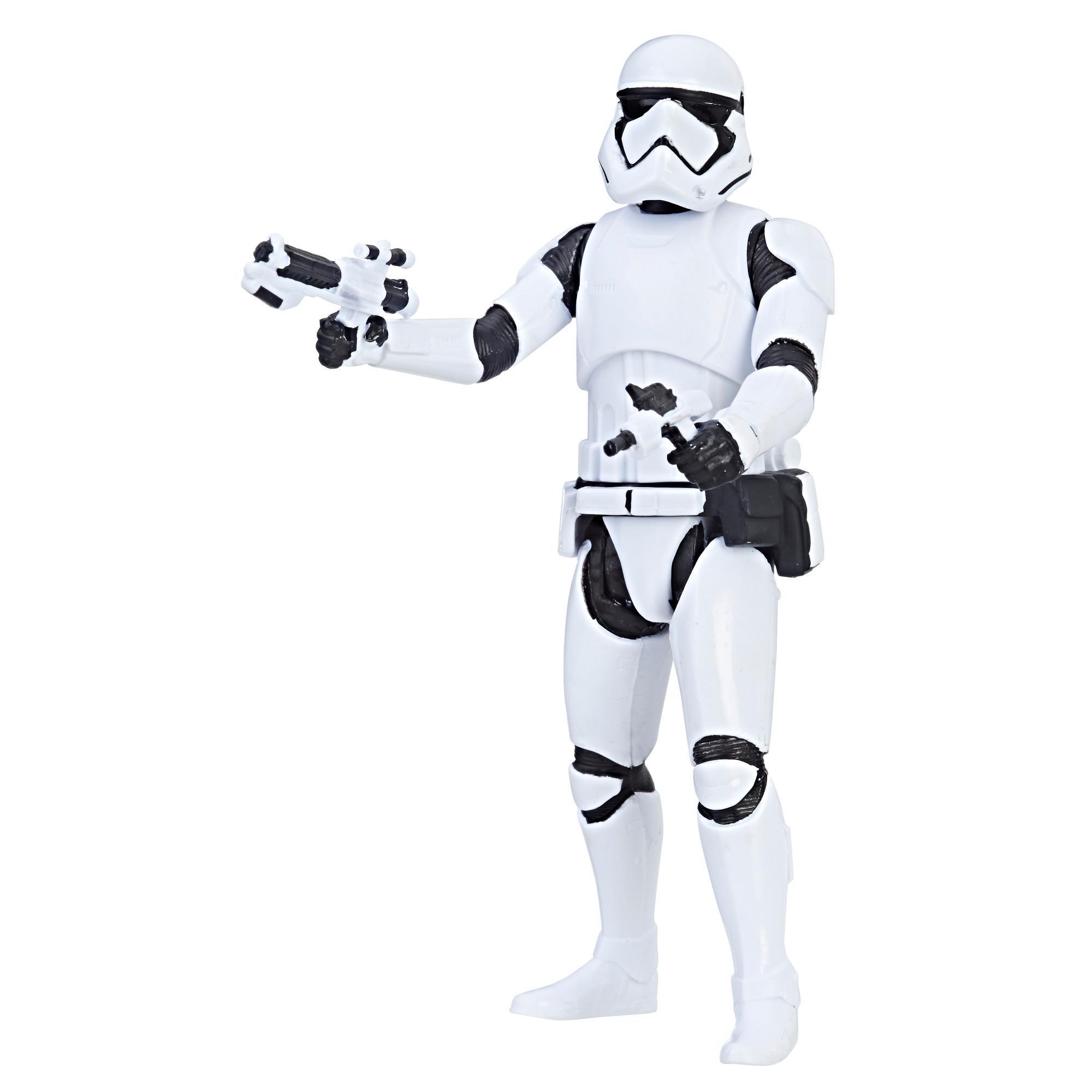 Figura Force Link Star Wars Stormtrooper da Primeira Ordem