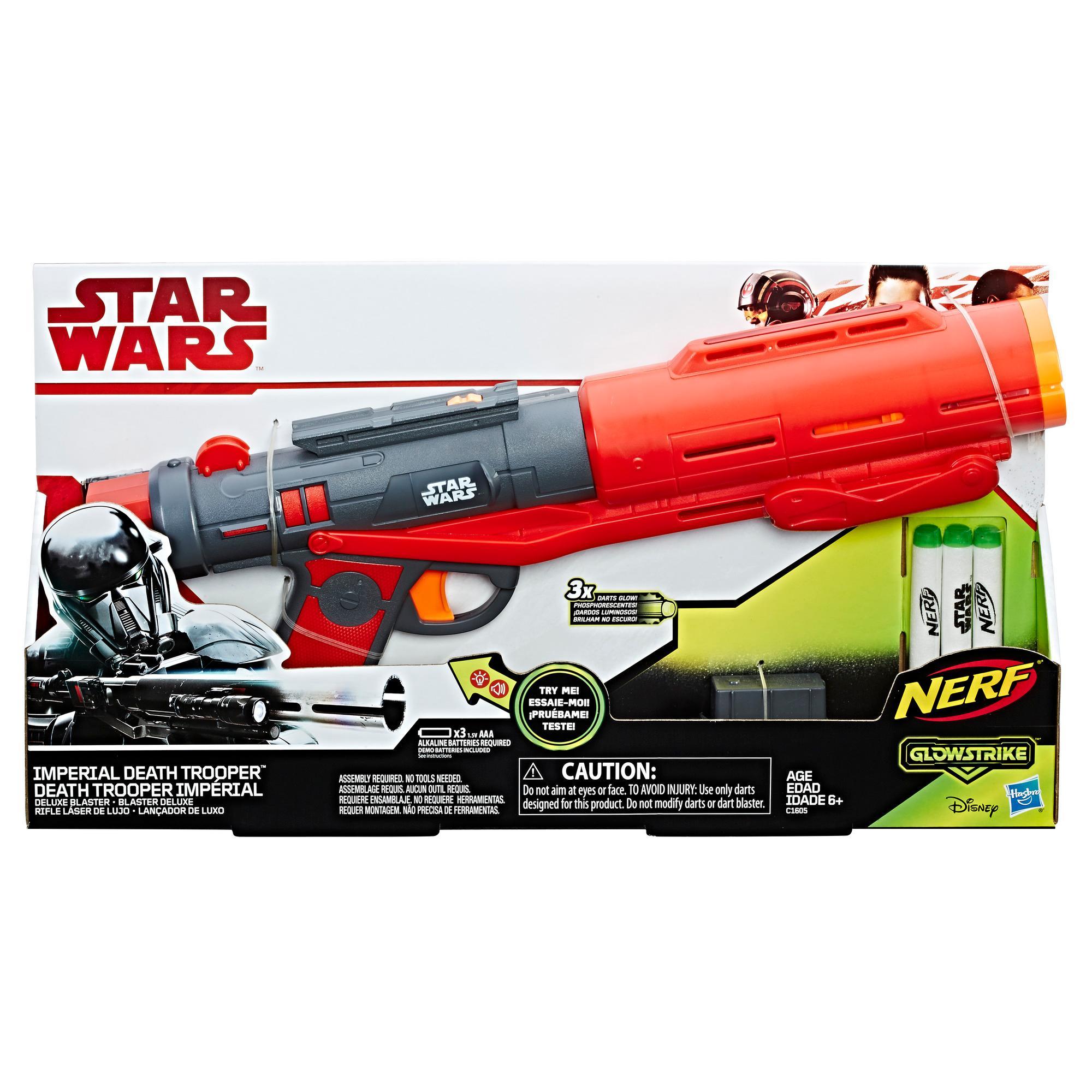 Star Wars - Lançador Nerf de Luxo de Death Trooper Imperial