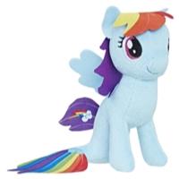 My Little Pony: O Filme - Rainbow Dash pônei-marinho pelúcia pequena