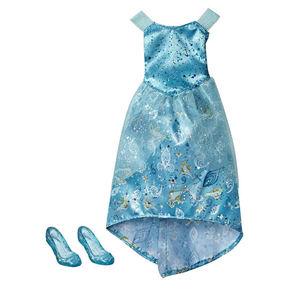 Disney Princess Jasmine - Kit de roupa: vestido e sapatos