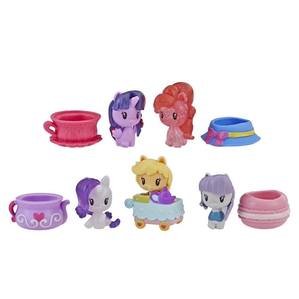My Little Pony Cutie Mark Crew Série 3 - Kit Chá da Tarde com 5 brinquedos