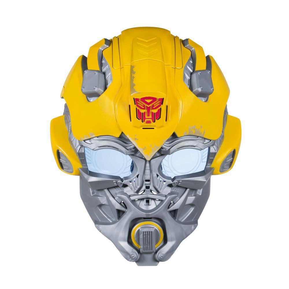 Transformers: O Último Cavaleiro - máscara eletrônica do Bumblebee