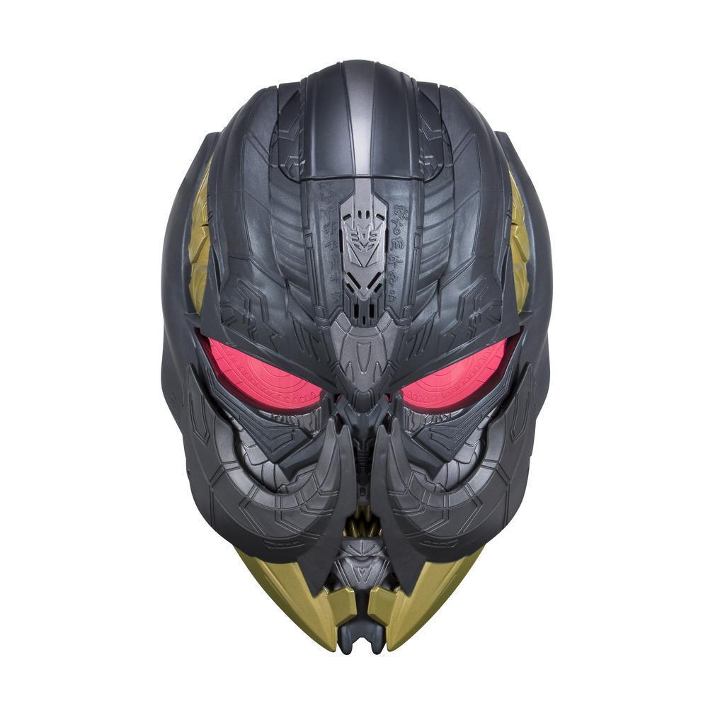Transformers: O Último Cavaleiro -máscara eletrônica do Megatron