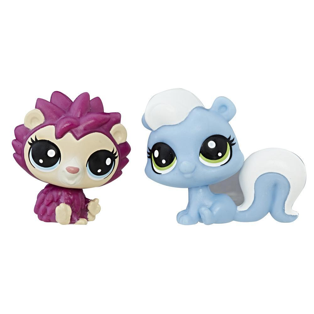 Littlest Pet Shop - Mini Kit Duplo (gambá/porco-espinho)