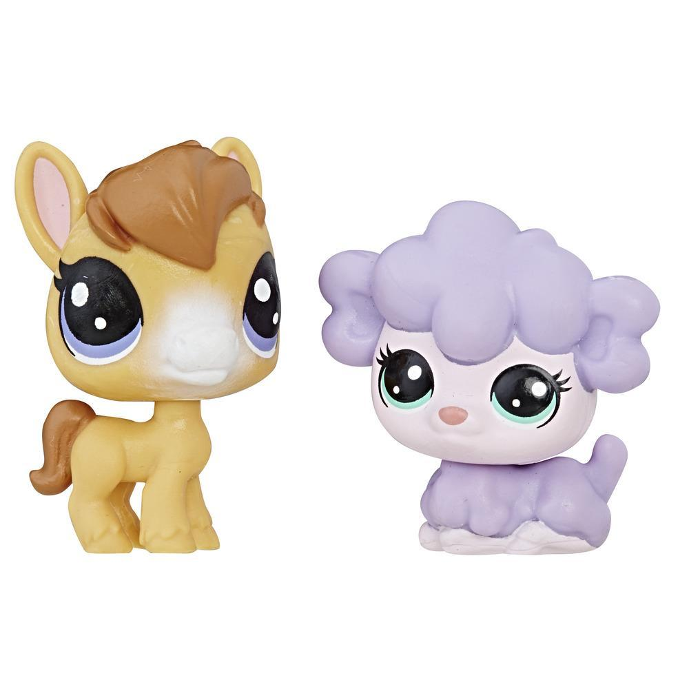 Littlest Pet Shop - Mini Kit Duplo (ovelha/burro)