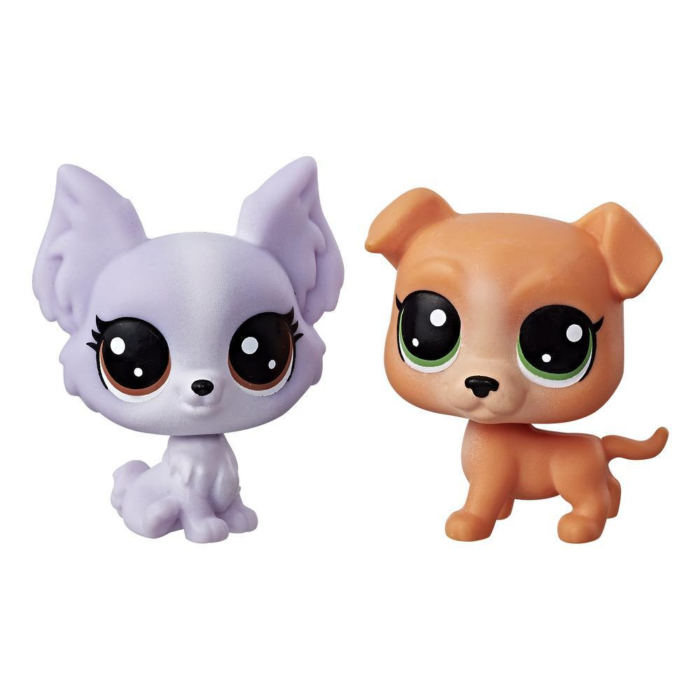Littlest Pet Shop - Mini Kit Duplo (pitbull/borboleta)
