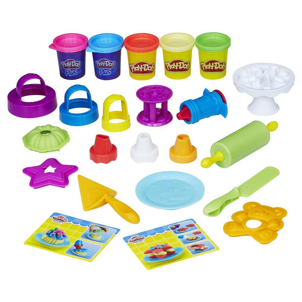 Play-Doh Kitchen Creations - Bolos Decorados