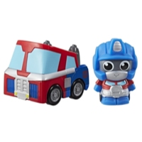 Playskool Amigos Transformadores Optimus Prime Hide 'n Roll Out Vehicle' n Figura