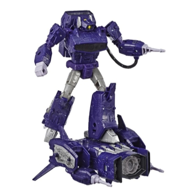 Transformers Generations War for Cybertron: Siege Classe Leader - Figura WFC-S14 Shockwave Product