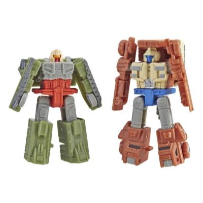 Transformers Generations War for Cybertron: Siege Micromaster - Kit com 2 Figuras de WFC-S6 Autobot Patrulha de Combate