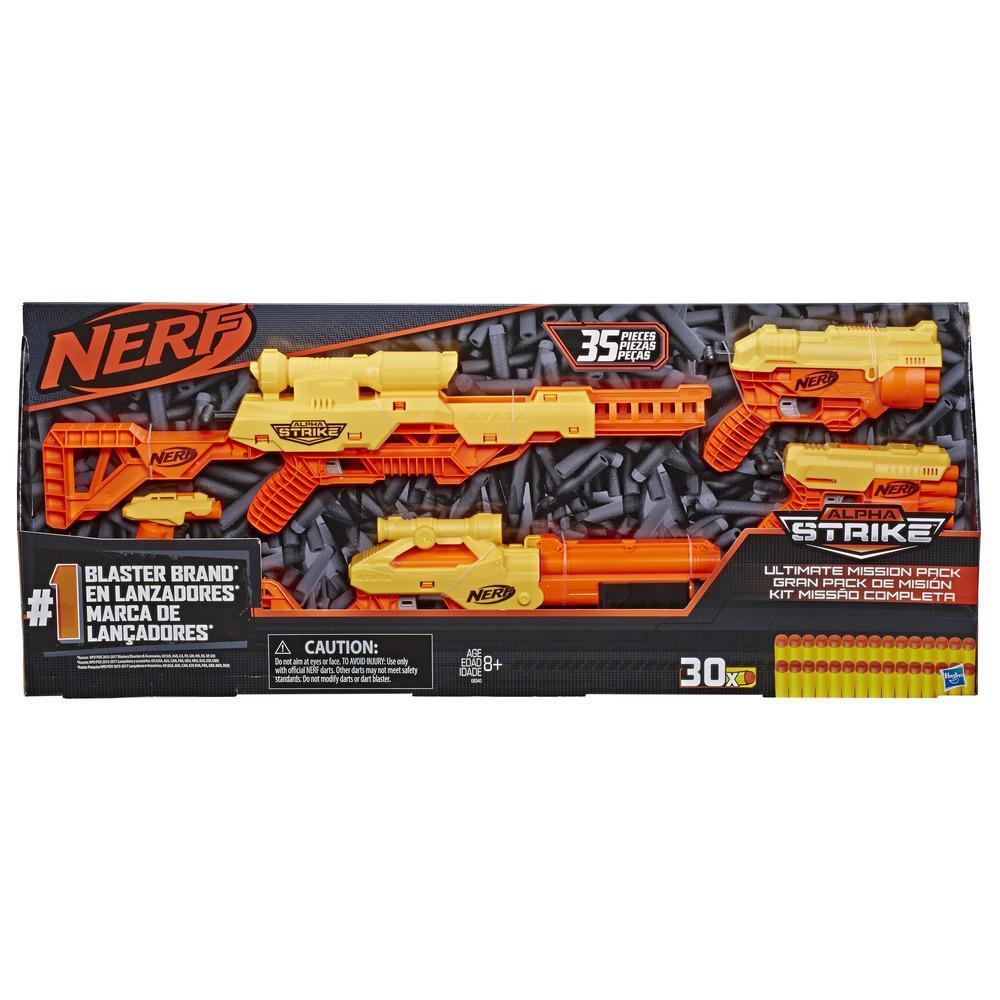 Nerf Alpha Strike Kit Missão Completa