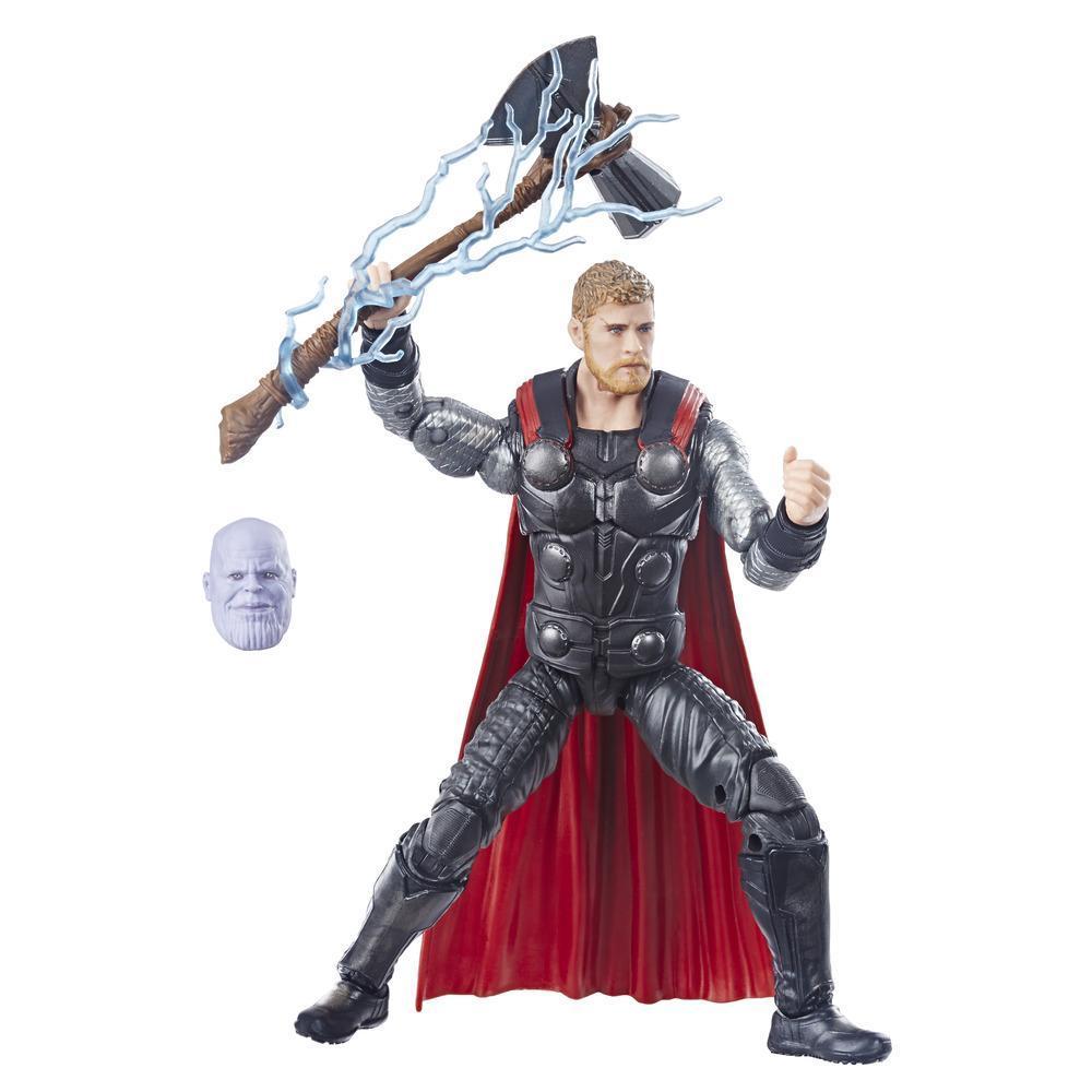 Marvel Legends Series Vingadores: Guerra Infinita - Figura de Thor de 15 cm