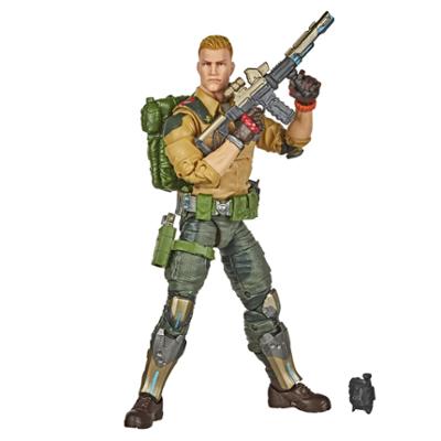 Contém: G.I. JOE Classified Series Duke Figura Brinquedo com múltiplos acessórios