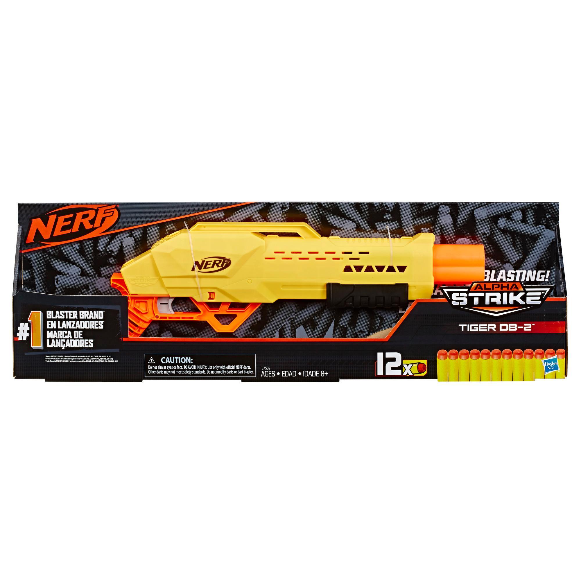 Lançador Tiger DB-2 Nerf Alpha Strike