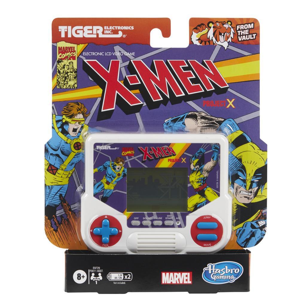 Tiger Electronics Marvel X-Men Project X Jogo Eletrônico LCD Videogame