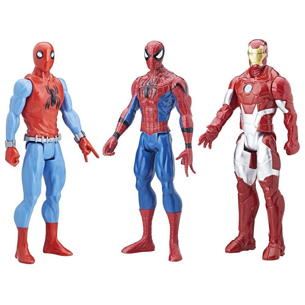 Spider-Man: De Volta ao Lar - Kit Triplo Titan Hero Series