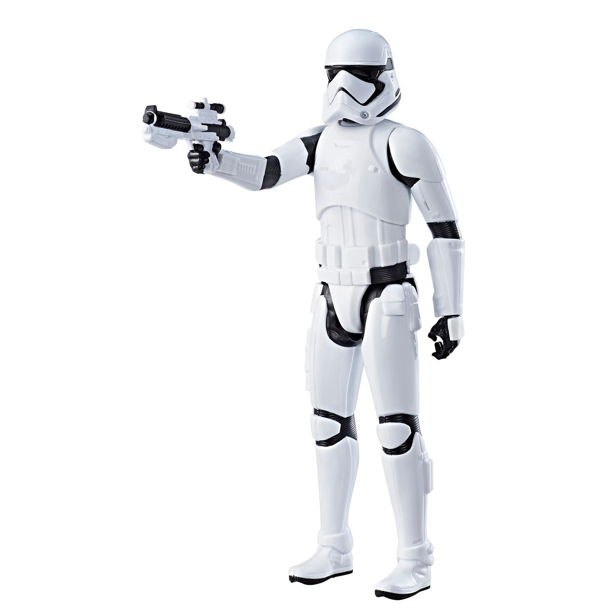 Star Wars: Os Últimos Jedi - Figura Stormtrooper da Primeira Ordem