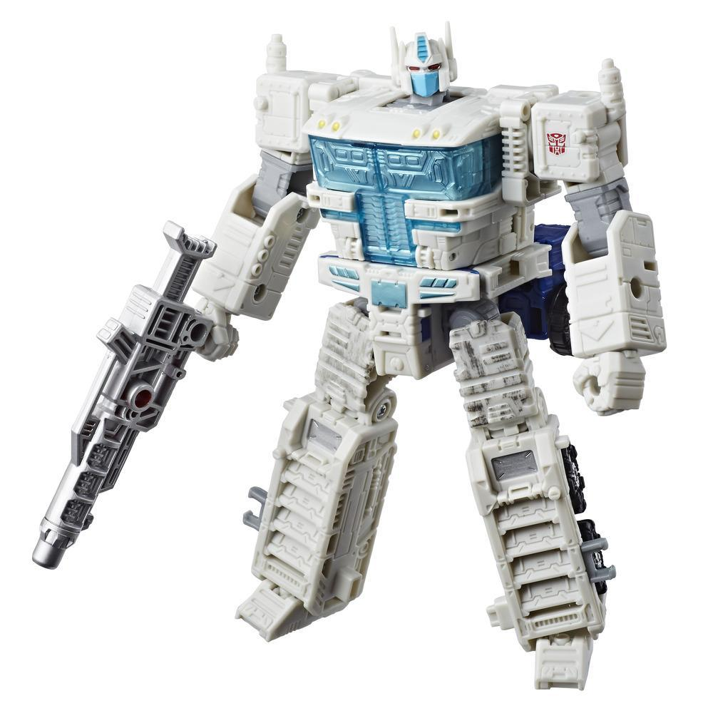 Transformers Generations War for Cybertron: Siege Classe Leader - Figura WFC-S13 Ultra Magnus
