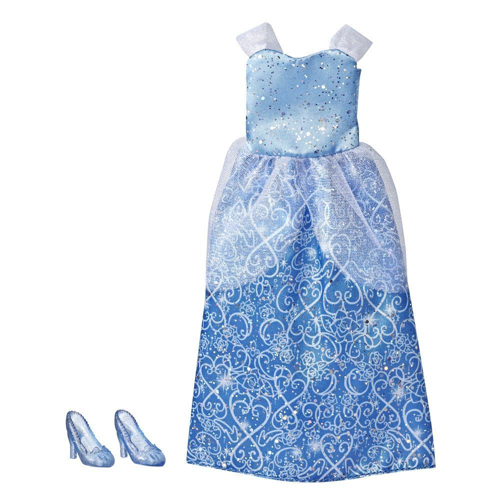 Disney Princess Cinderela - Kit de roupa: vestido e sapatos