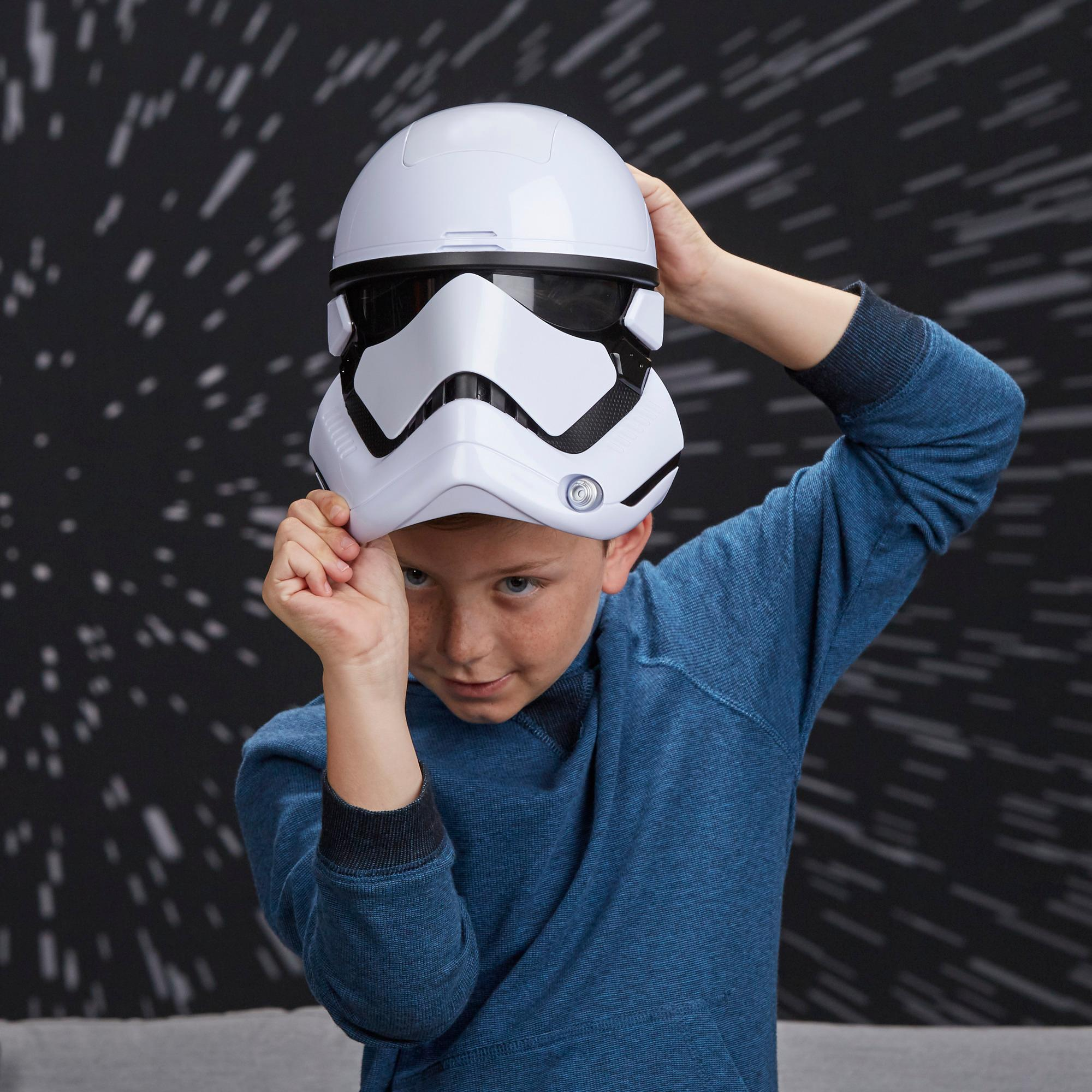 Star Wars: Os Últimos Jedi - Máscara Eletrônica de Stormtrooper da Primeira Ordem