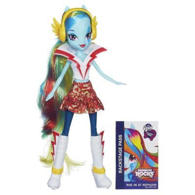 My Little Pony Equestria Girls - Boneca Rainbow Dash