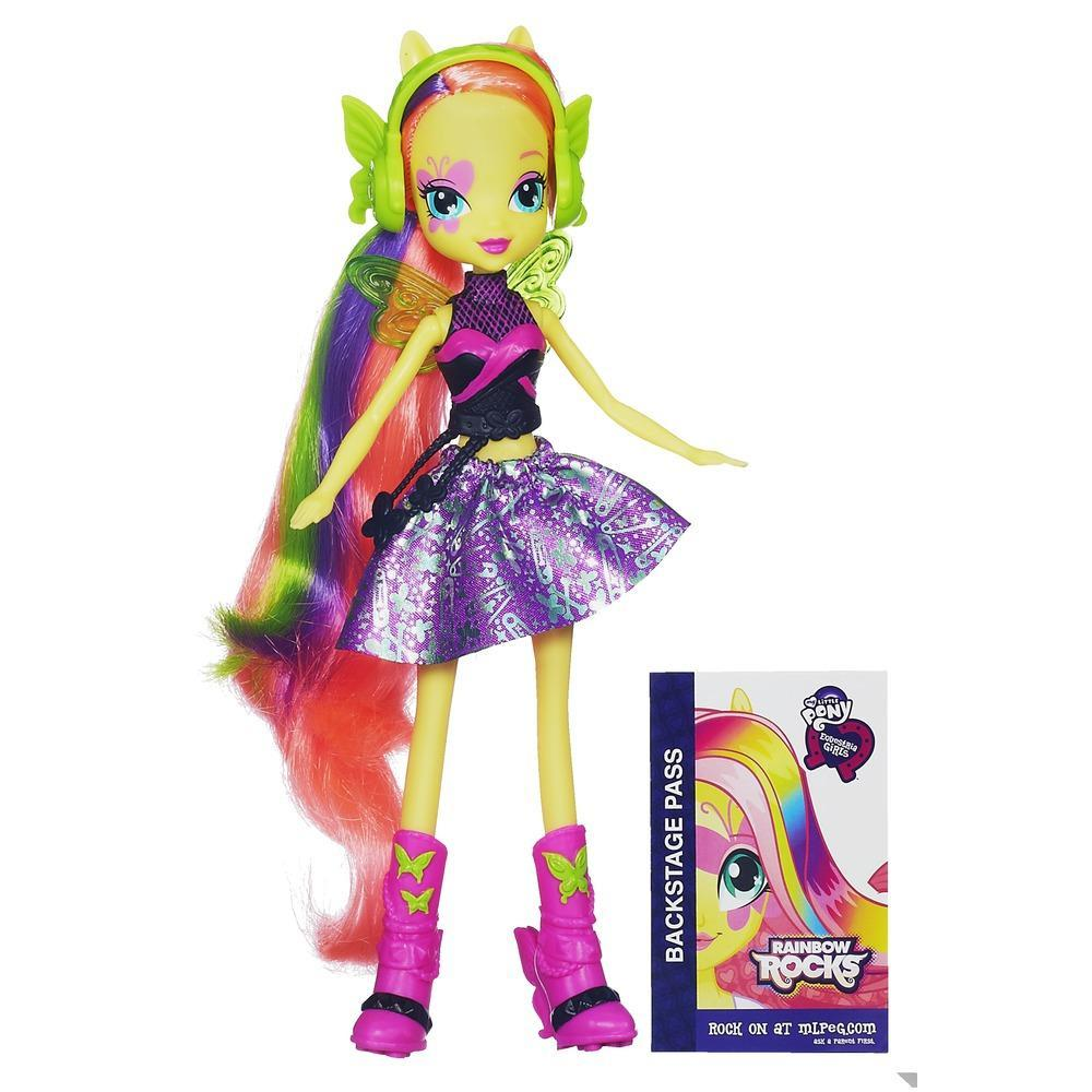 My Little Pony Equestria Girls - Boneca Fluttershy