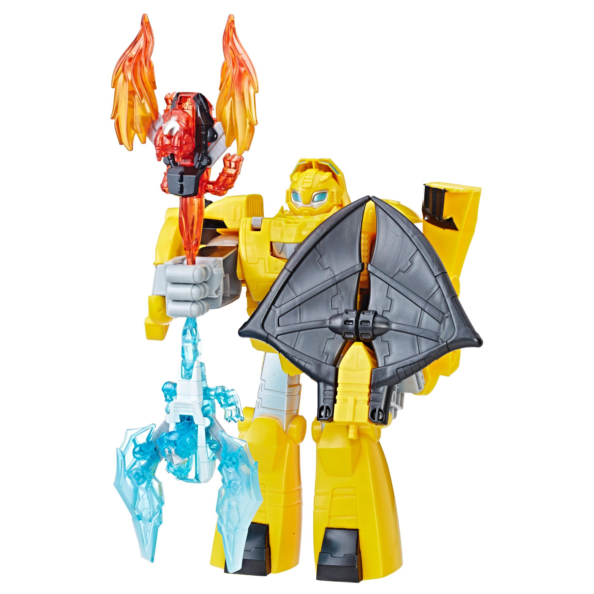 Playskool Heroes Transformers Rescue Bots - Bumblebee Cavaleiro Vigilante