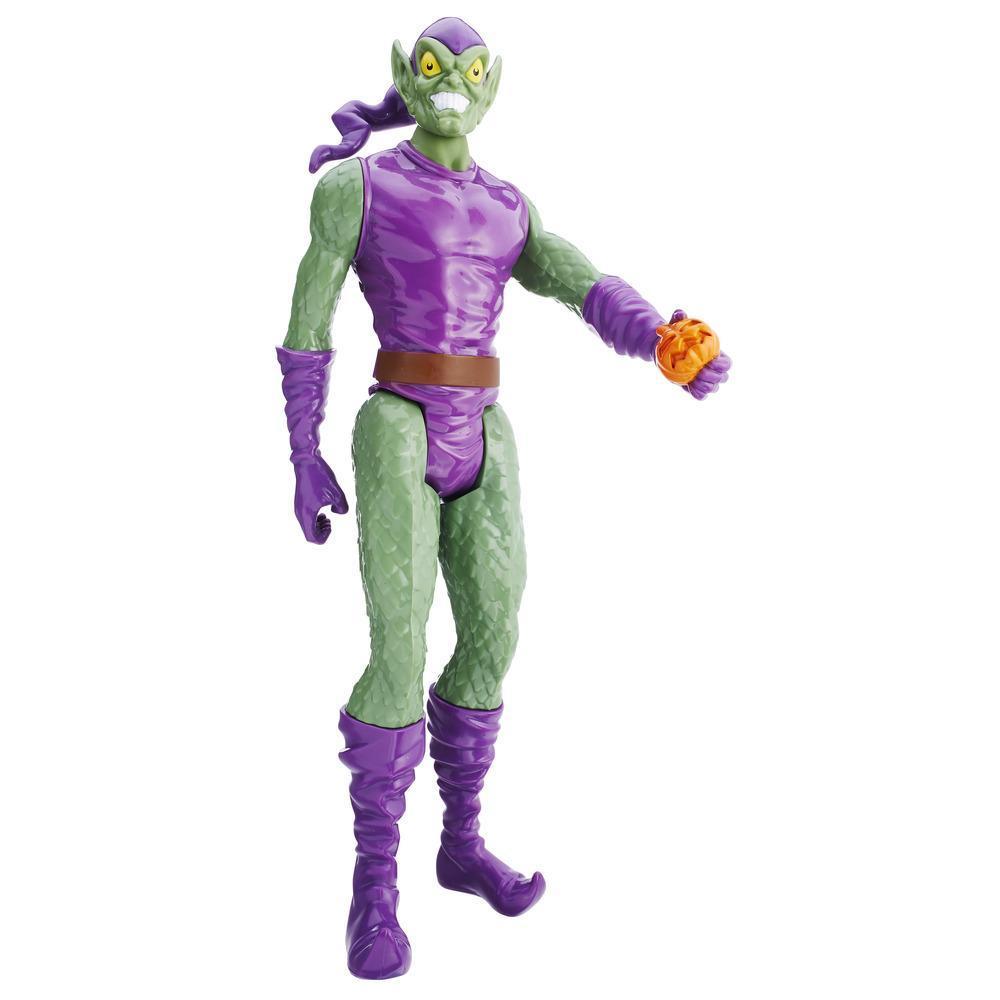 Boneco Spiderman Titan Hero Duende Verde