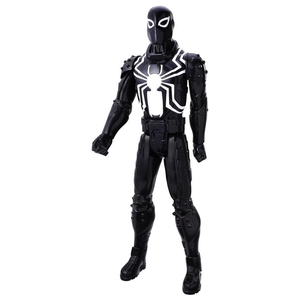 Boneco Spiderman Titan Web Warriors Agente Venom