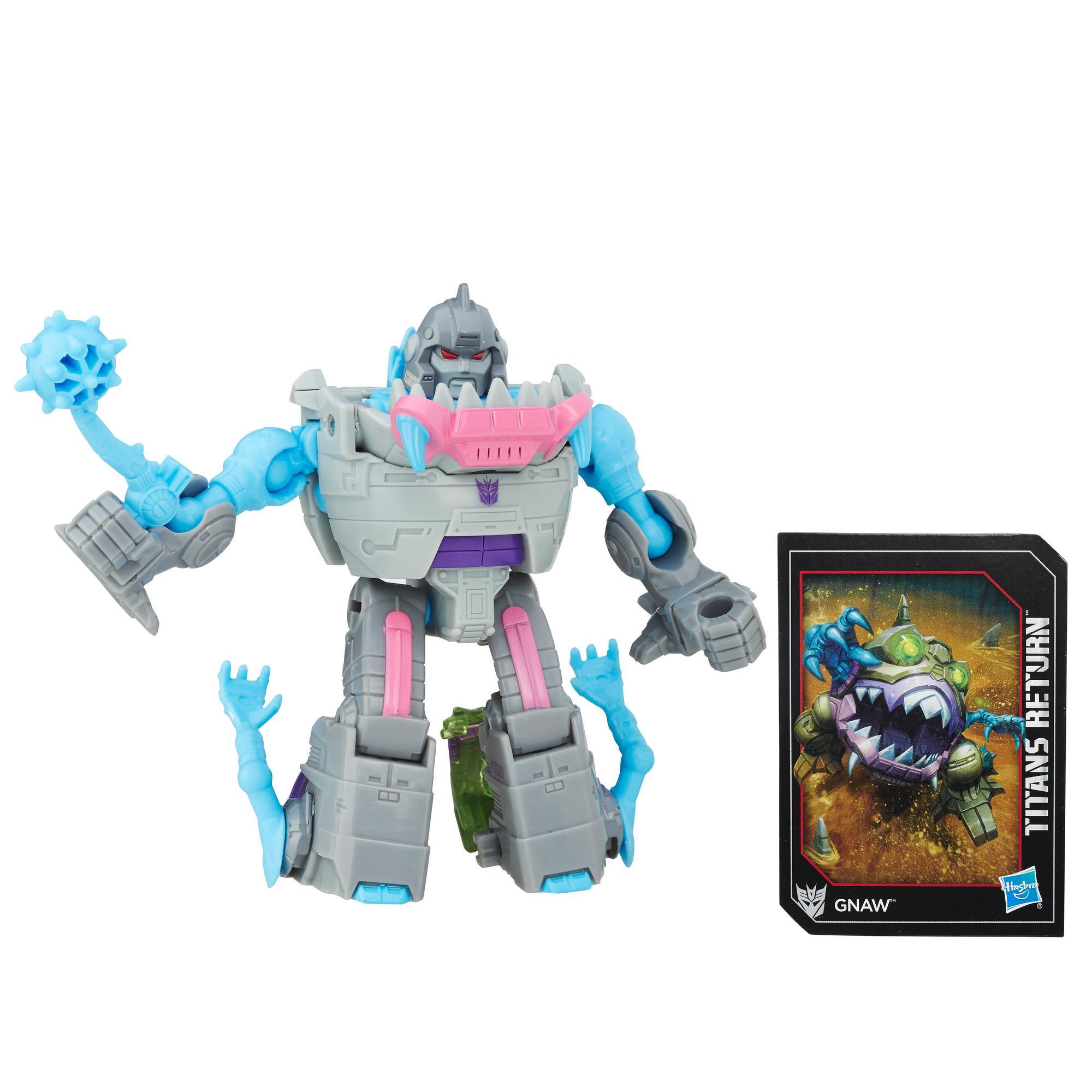 Bq Figura Transformers Leg Titan Ret - Gnaw