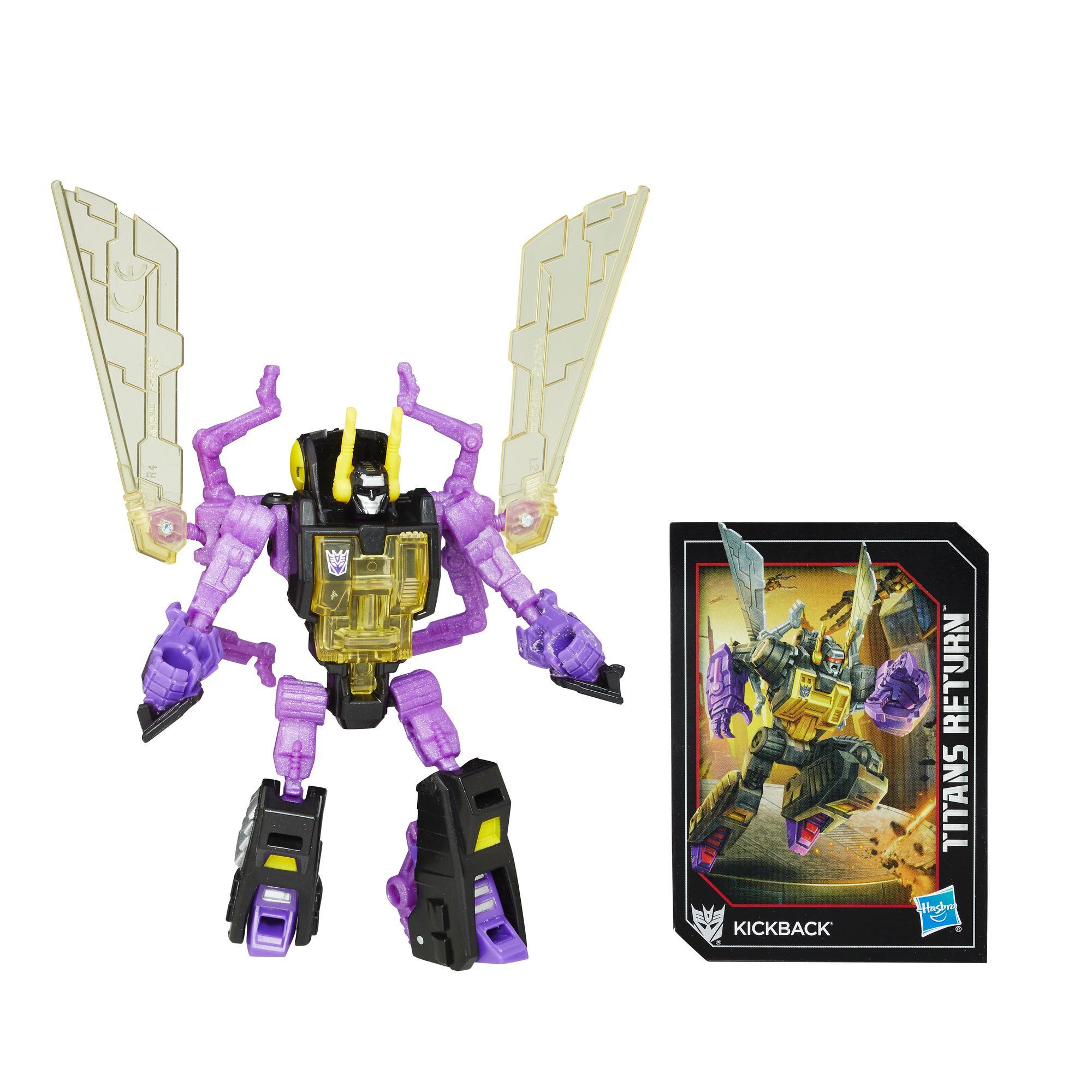 Bq Figura Transformers Leg Titan Ret - Kickback