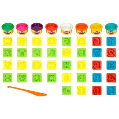 Conjunto Play-Doh Letrinhas e Números