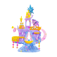 Conjunto My Little Pony Pop Castelo Twilight