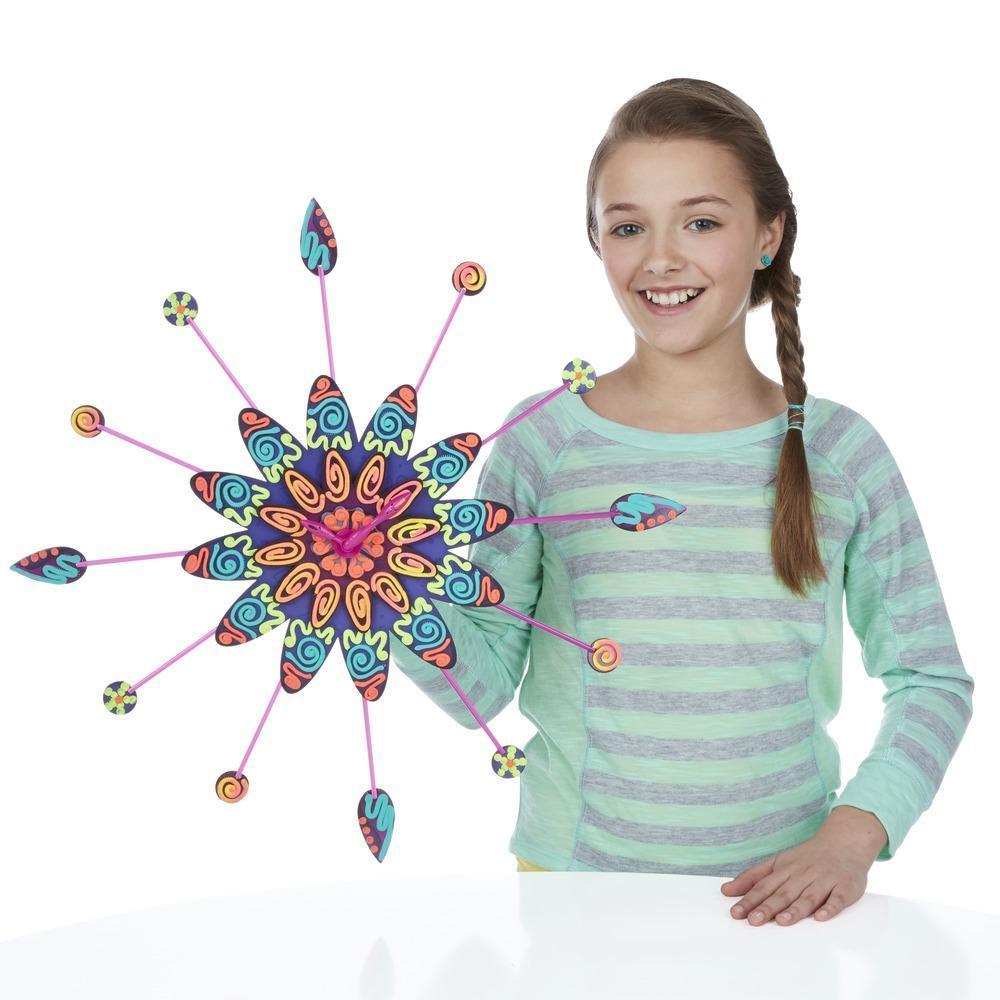DohVinci - Kit Relógio de flor