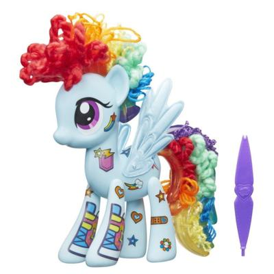 Cenário de Jogo Rainbow Dash Design-a-Pony do My Little Pony